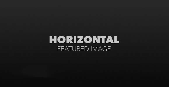 Horizontal Featured Image