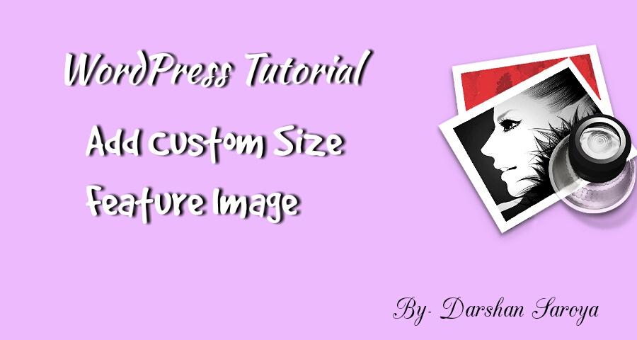 Add custom size feature image