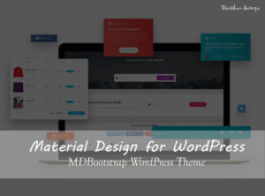 Material Design for WordPress - MDBootstrap WordPress Theme