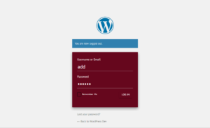 Materially Flat Admin Theme login page
