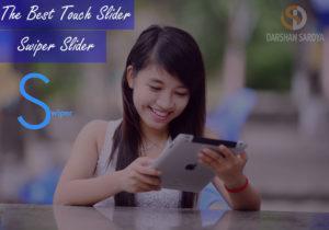 The Best Touch Slider-Responsive Swiper Slider
