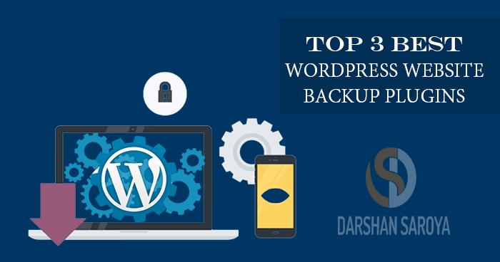 Top 3 Best WordPress Website Backup plugins