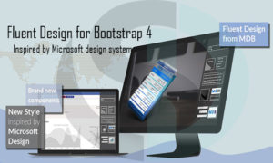 Fluent Design for Bootstrap 4- Inspired by Microsoft design system