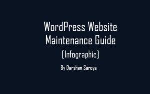 WordPress Website Maintenance Guide - 50+ Useful Tips [Infographic]