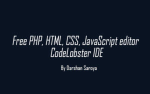 Free PHP, HTML, CSS, JavaScript editor - CodeLobster IDE