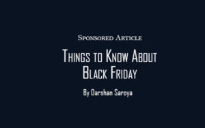 Things to Know About Black Friday Sale