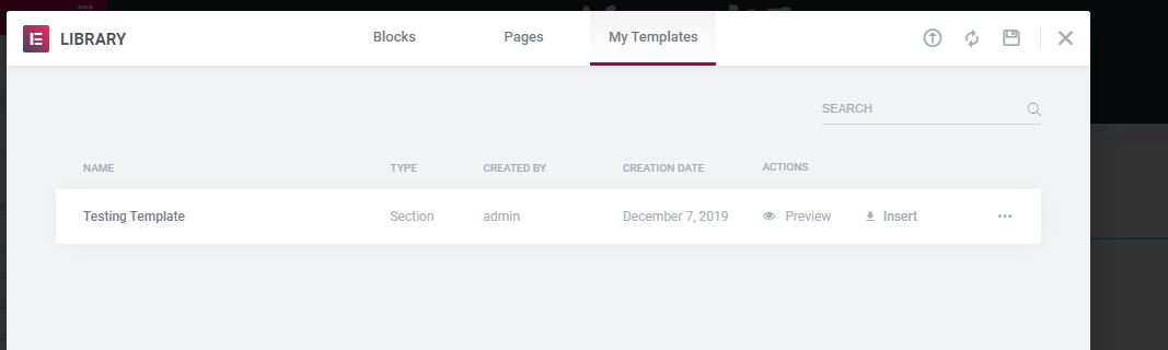 elementor-using-custom-page-template